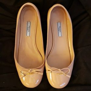 Authentic Prada Ballet Flats